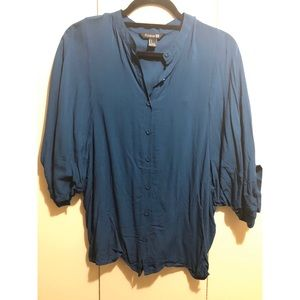 Forever 21 Button Up Blouse - Women's S